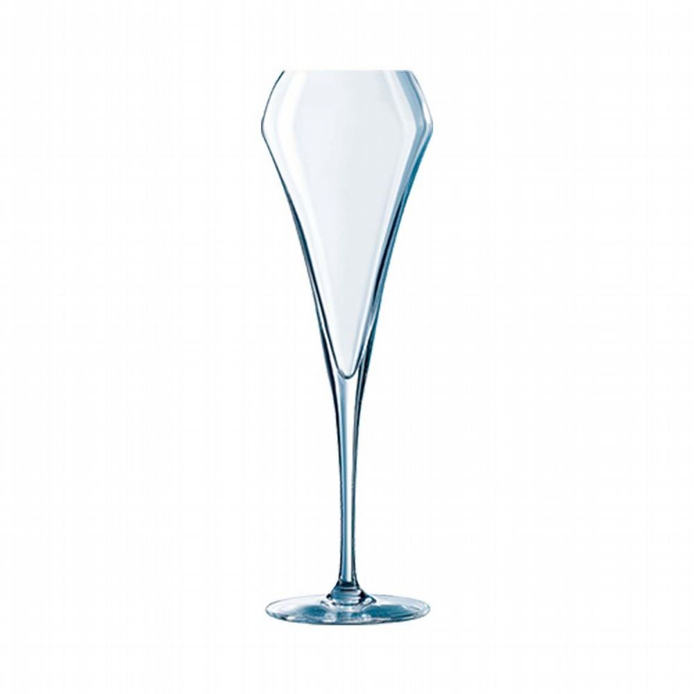 Open Up - Champagne Flute Glass - 20cl